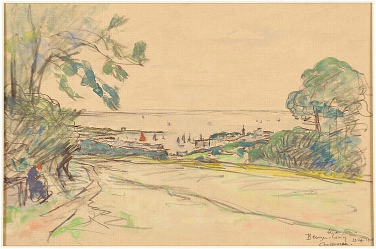 Beuzec-Concq in Concarneau, 1911 - Maxime Maufra