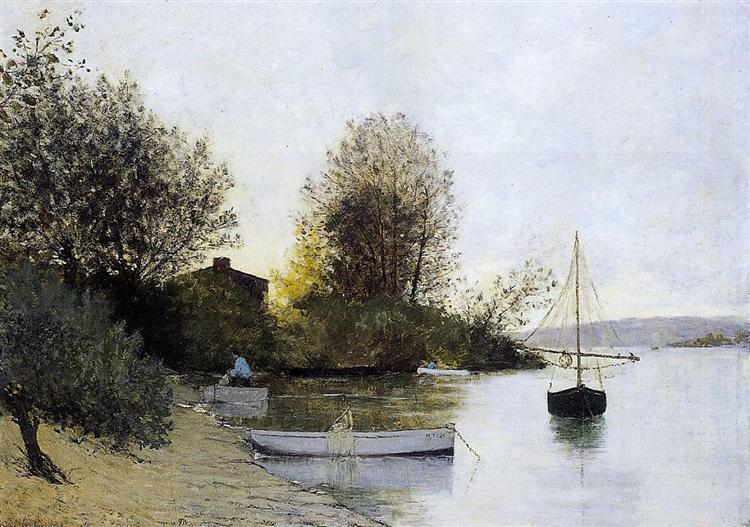 Fishermen on the Banks of the Loire, 1889 - Maxime Maufra