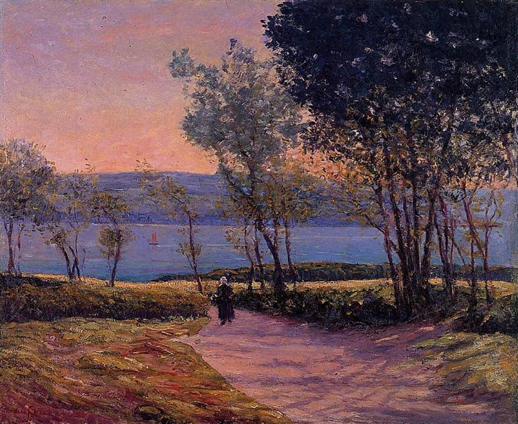 Landscape by the Water, c.1900 - Maxime Maufra