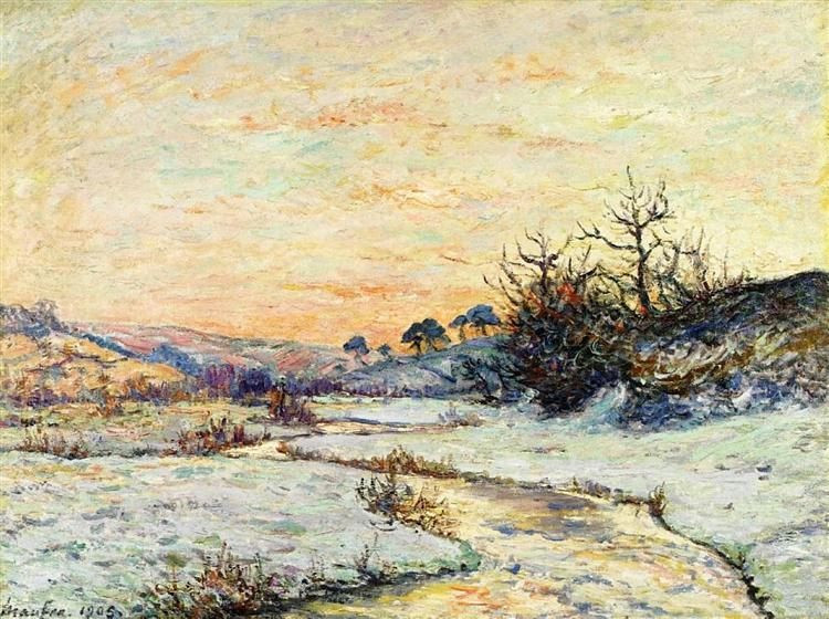 Morning in Winter, 1905 - Maxime Maufra