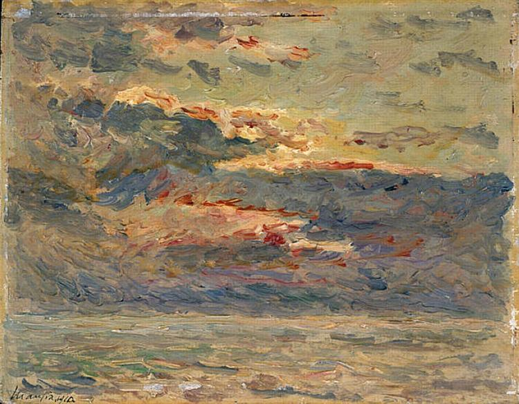 Sunset on the Sea, 1910 - Maxime Maufra