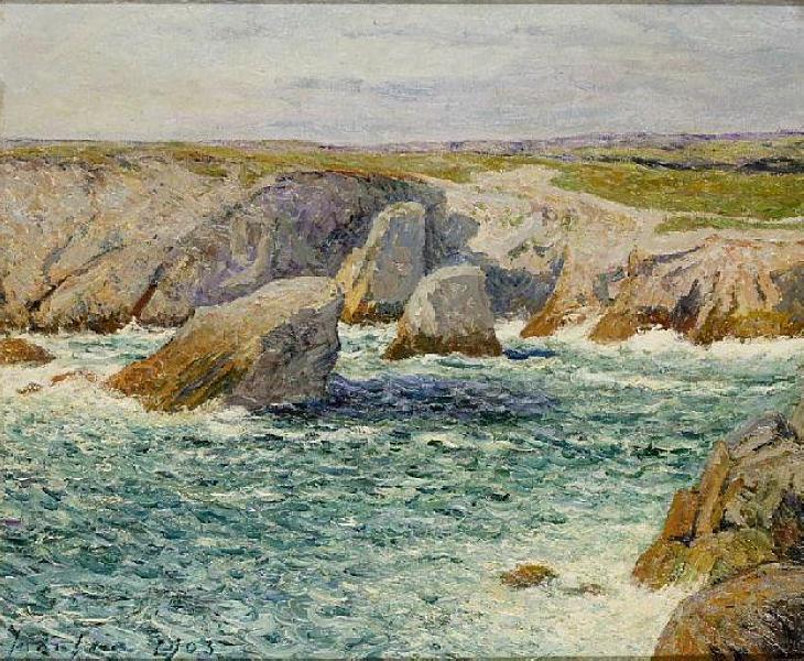 The creek shore of Quibero, 1903 - Maxime Maufra