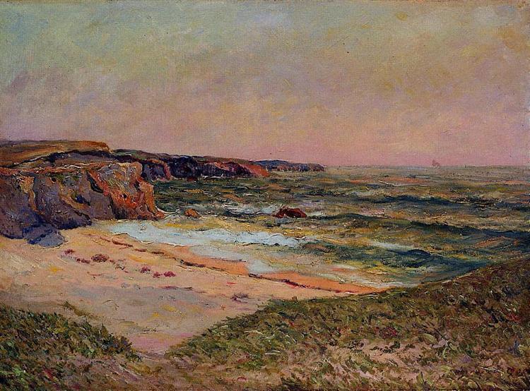 The Dunes of Port Blanc near Ile de Quiberon, 1908 - Maxime Maufra