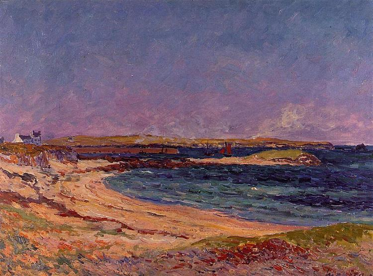 The Portivy Beach, 1907 - Maxime Maufra