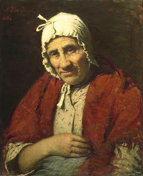 Old Jewish Woman, 1880 - Meyer de Haan