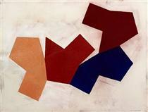 Four Shapes - Mel Bochner