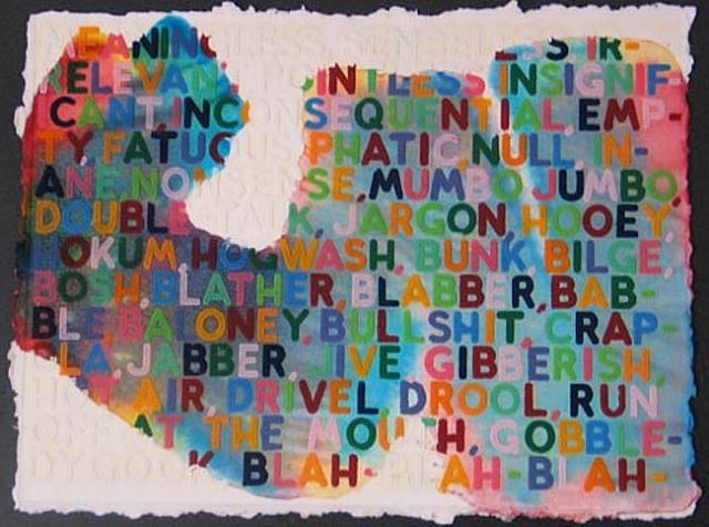 Meaningless, 2005 - Mel Bochner