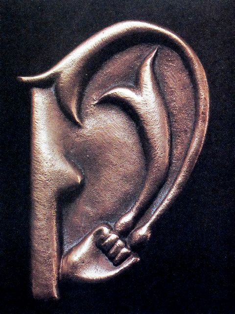 Billedresultat for meret oppenheim giacometti's ear