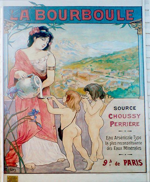 Affiche La Bourboule - Michel Simonidy