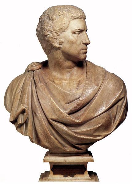 Bust of Brutus, c.1540 - Michelangelo