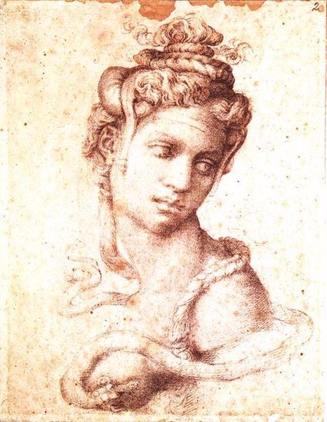 Cleopatra, 1534 - Michelangelo