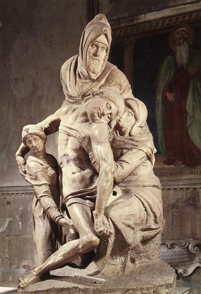 Pieta, c.1550 - Michelangelo