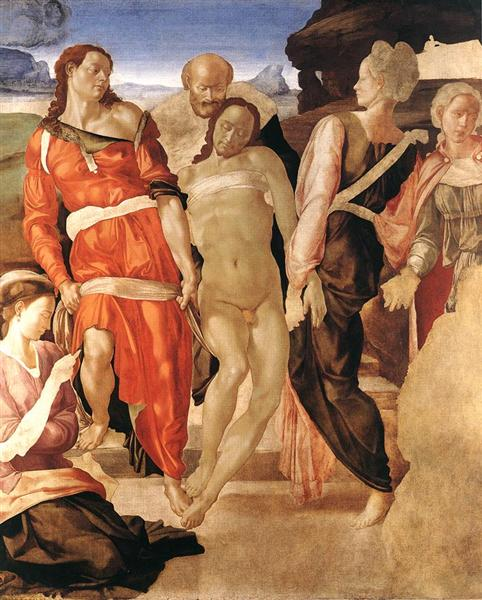The Entombment, c.1501 - Michelangelo