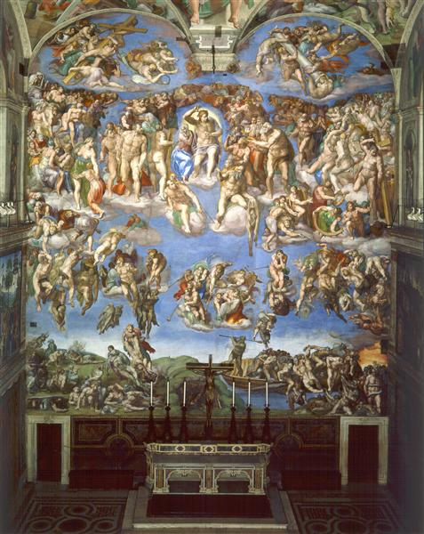 The Last Judgement, 1537 - 1541 - Michelangelo