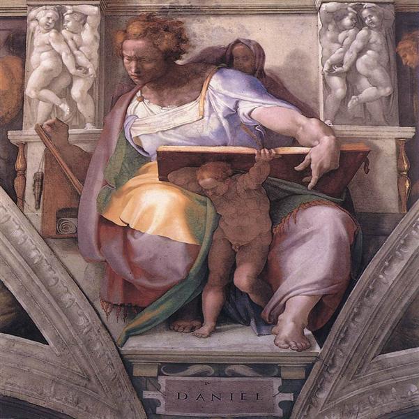 Пророк Даниїл, 1511 - Мікеланджело