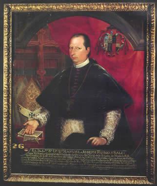 Manuel José Rubio y Salinas, 1758 - Miguel Cabrera