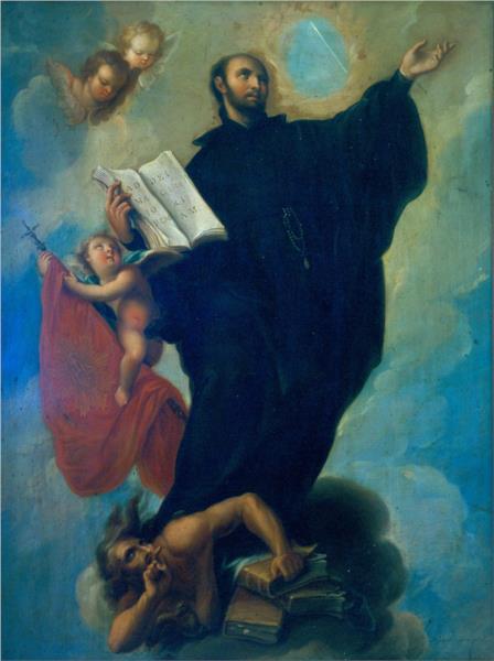 Saint Ignatius Loyola - Miguel Cabrera