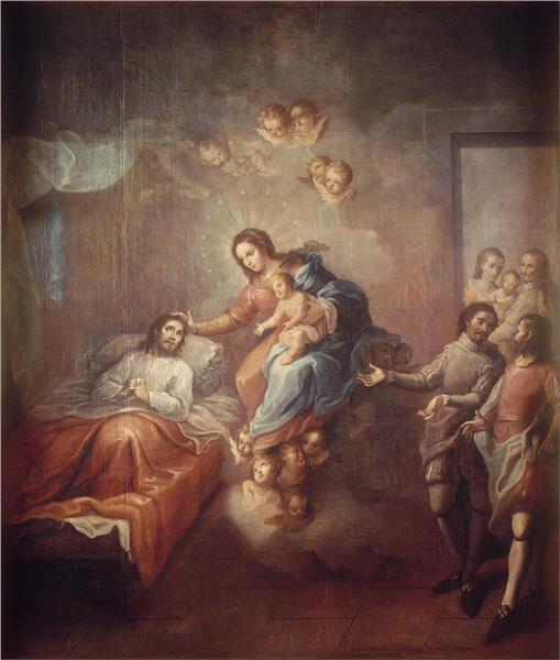 The Conversion of Saint Ignatius Loyola - Мігель Кабрера