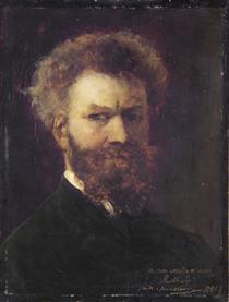 Self-Portrait II - Mihály Munkácsy