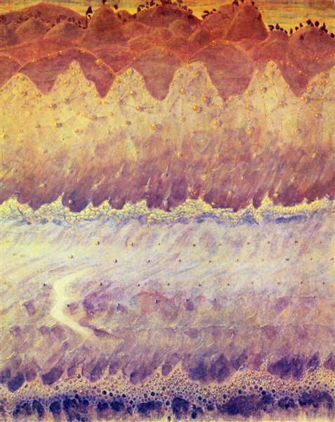 Allegro (Sonata of the Sea), 1908 - Mikalojus Konstantinas Ciurlionis