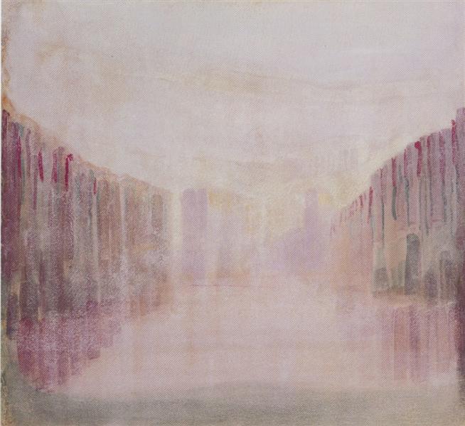 Daybreak (I), 1906 - Mikalojus Konstantinas Ciurlionis