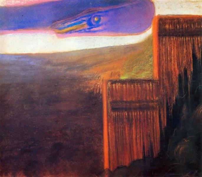Deluge (IX), 1904 - Mikalojus Konstantinas Ciurlionis