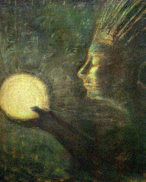 Friendship, 1907 - Mikalojus Konstantinas Ciurlionis