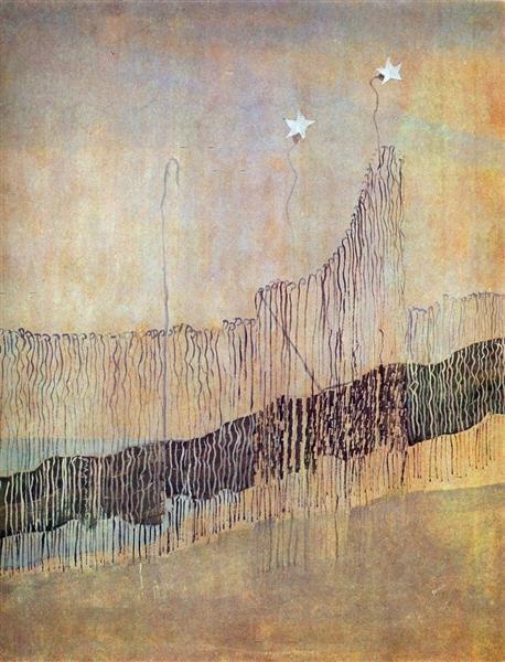 My road (II), 1907 - Mikalojus Konstantinas Ciurlionis