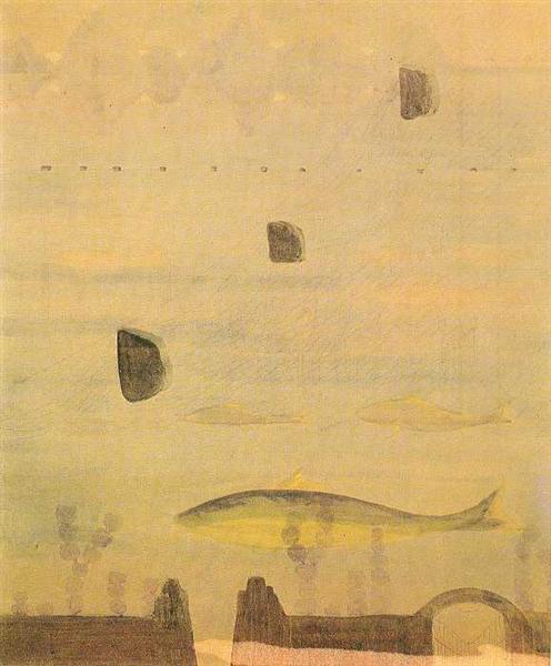 Скерцо (Соната весны), 1907 - Микалоюс Чюрлёнис