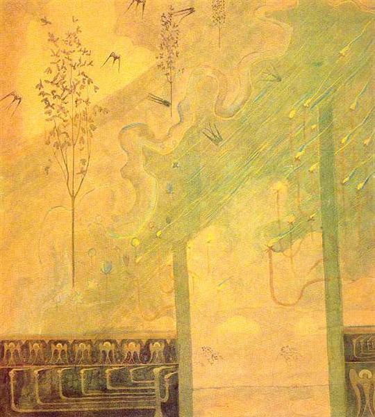 Scherzo (Sonata of the Summer), 1907 - Mikalojus Konstantinas Ciurlionis