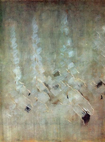 Зима (VII), 1907 - Мікалоюс Чюрльоніс