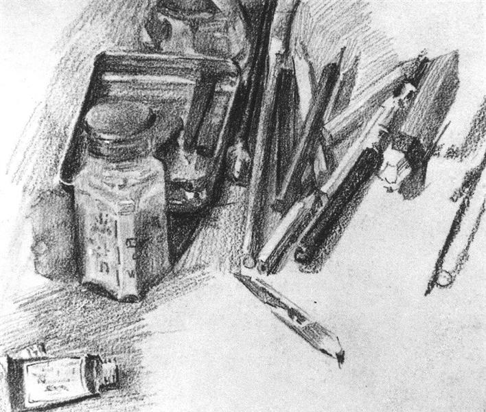 Pencils, 1905 - Mikhail Vrubel