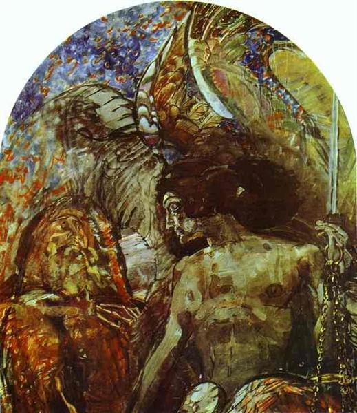 Prophet, 1898 - Mikhail Vrubel
