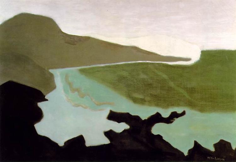 Green Sea, 1954 - Milton Avery