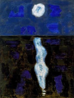 White Moon, 1957 - Milton Avery