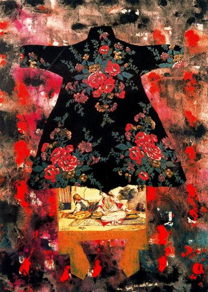 Collaborations Series - Delacroix and Me - Miriam Schapiro