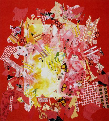 Explode, 1972 - Miriam Schapiro