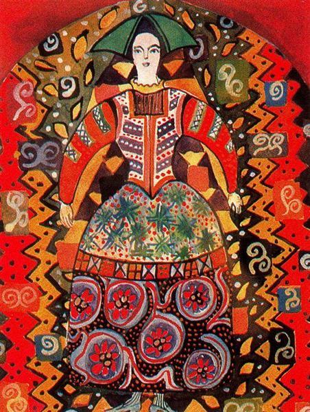 Homage to Goncharova - Miriam Schapiro