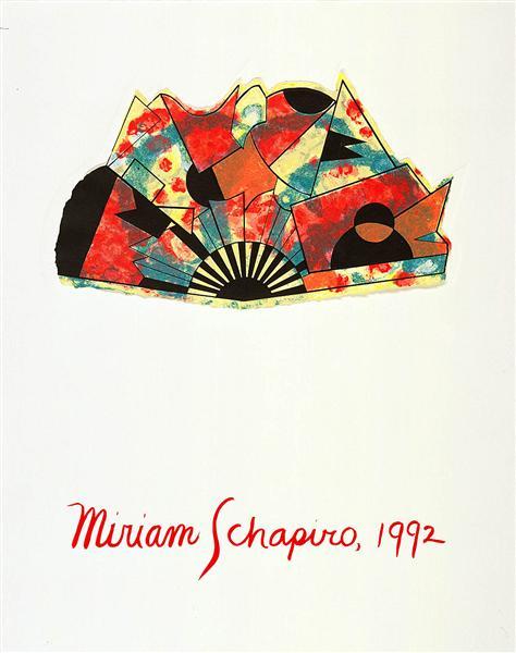 Untitled (portfolio cover), 1992 - Miriam Schapiro