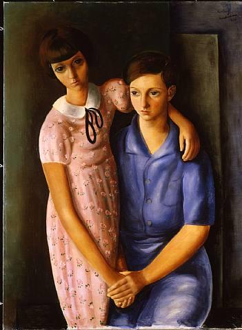 Children of Dr. Tas, 1930 - Moise Kisling