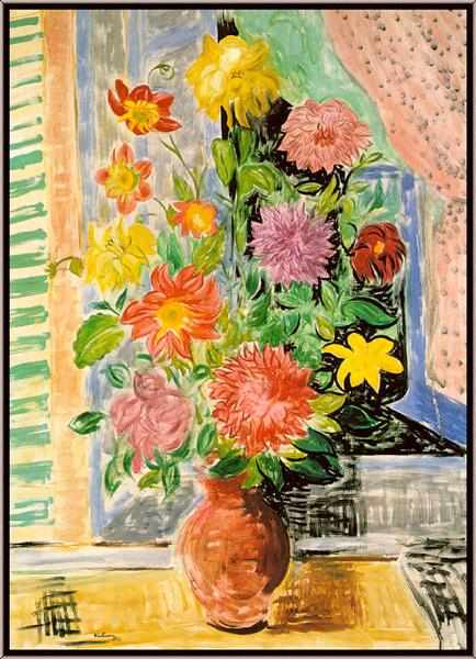 Grand bouquet - Moise Kisling
