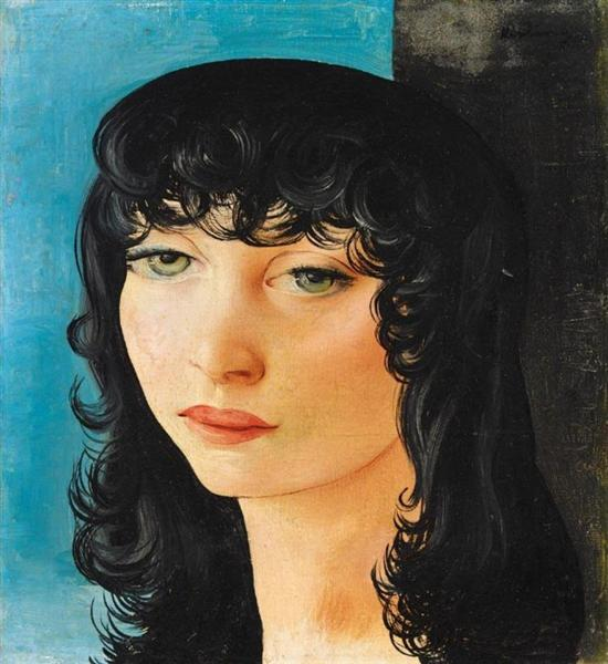 Young Dutch woman, 1930 - Moise Kisling