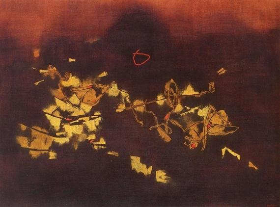 Rhythmic, 1978 - Mordecai Ardon
