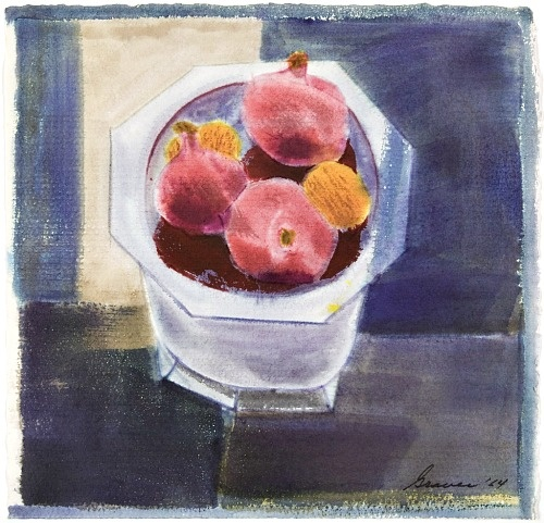 Still Life with Bowl of Pomegranates, 1964 - Morris Graves