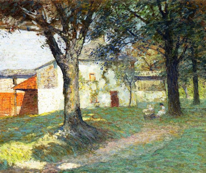 The Artist's Studio, Chadds Ford, Pennsylvania, c.1910 - N.C. Wyeth