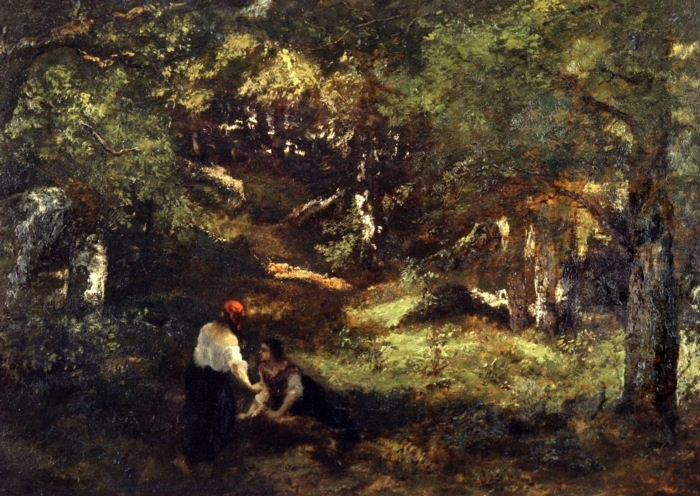 In the Fontainebleau Forest, 1860 - Narcisse-Virgile Díaz de la Peña