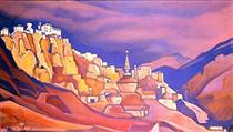 Lamayuru. Ladakh. - Nikolai Konstantinovich Roerich