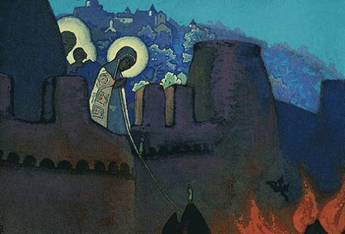 Madonna Laboris, 1935 - Nicholas Roerich