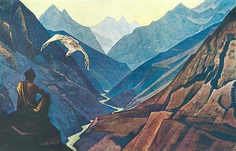 Teacher's order, 1947 - Nicholas Roerich