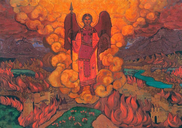 The Last Angel, 1912 - Nicholas Roerich